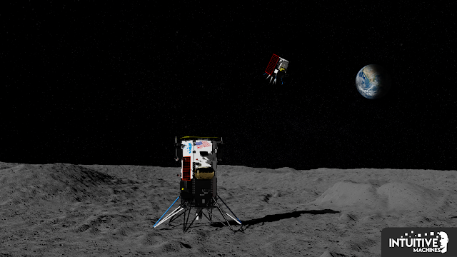 Intuitive Machines to Deliver Jumping Robot to the Moon's South Pole