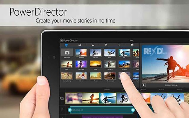 CyberLink PowerDirector Video Editor 6.1.0 APK Mod - Ứng dụng chỉnh sửa video cho Android