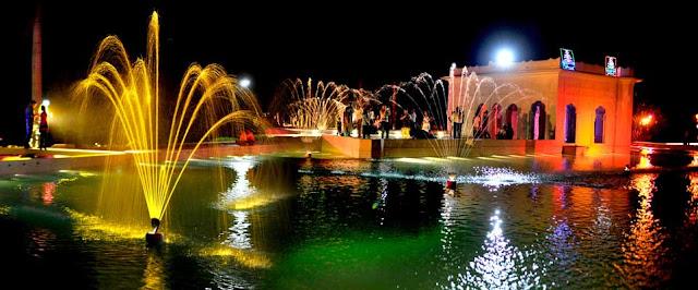 Pinjore Gardens night view