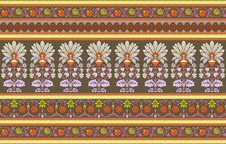 Traditional-illustration-indian-motif-textile-border-210050
