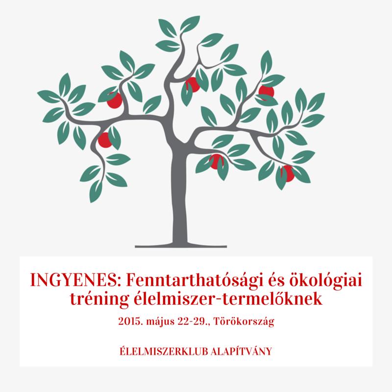 EK Ingyenes fenntarthatósági tréning Törökországban