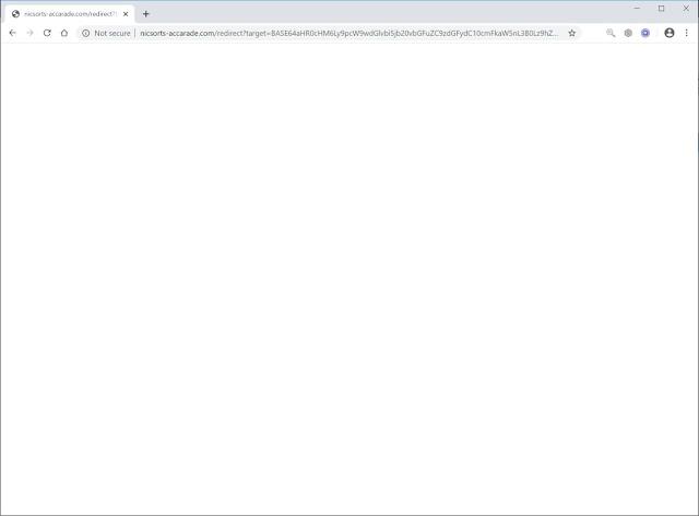 redirecciones a Nicsorts-accarade.com