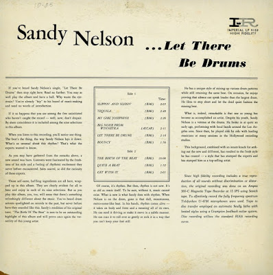Sandy Nelson - Let There Be Drums (1961)