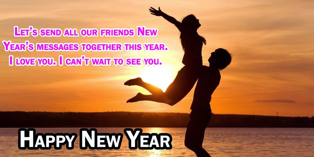 Happy New Year 2016 Wishes with Images for Boyfriend