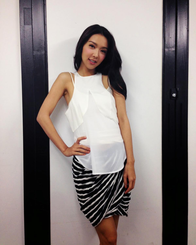 Fiona Sit artis cantik dan seksi dari Hongkong yang mansi bibir tipis
