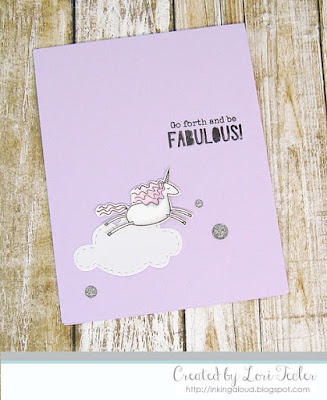Go Forth and Be Fabulous card-designed by Lori Tecler/Inking Aloud-stamps from Essentials by Ellen