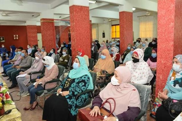 جامعة أسيوط تنظم دورة تدريبية لمشرفي المدن الجامعية لمواجهة كوفيد 19