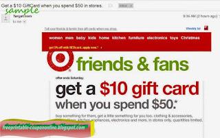 Free Printable Target Coupons