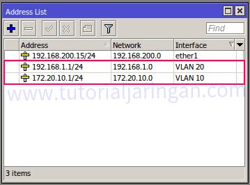 Tutorial Cara Setting VLAN di Router Mikrotik