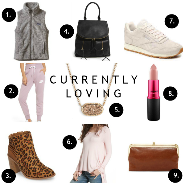 currently loving, north carolina blogger, casual style, mom style, style on a budget