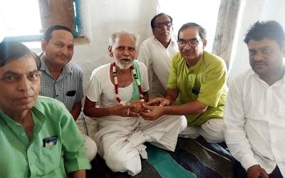 पूर्व विधायक भारती ने एक दर्जन से अधिक गांवों में भाजपा के नए सदस्य बनाए | Pohari News