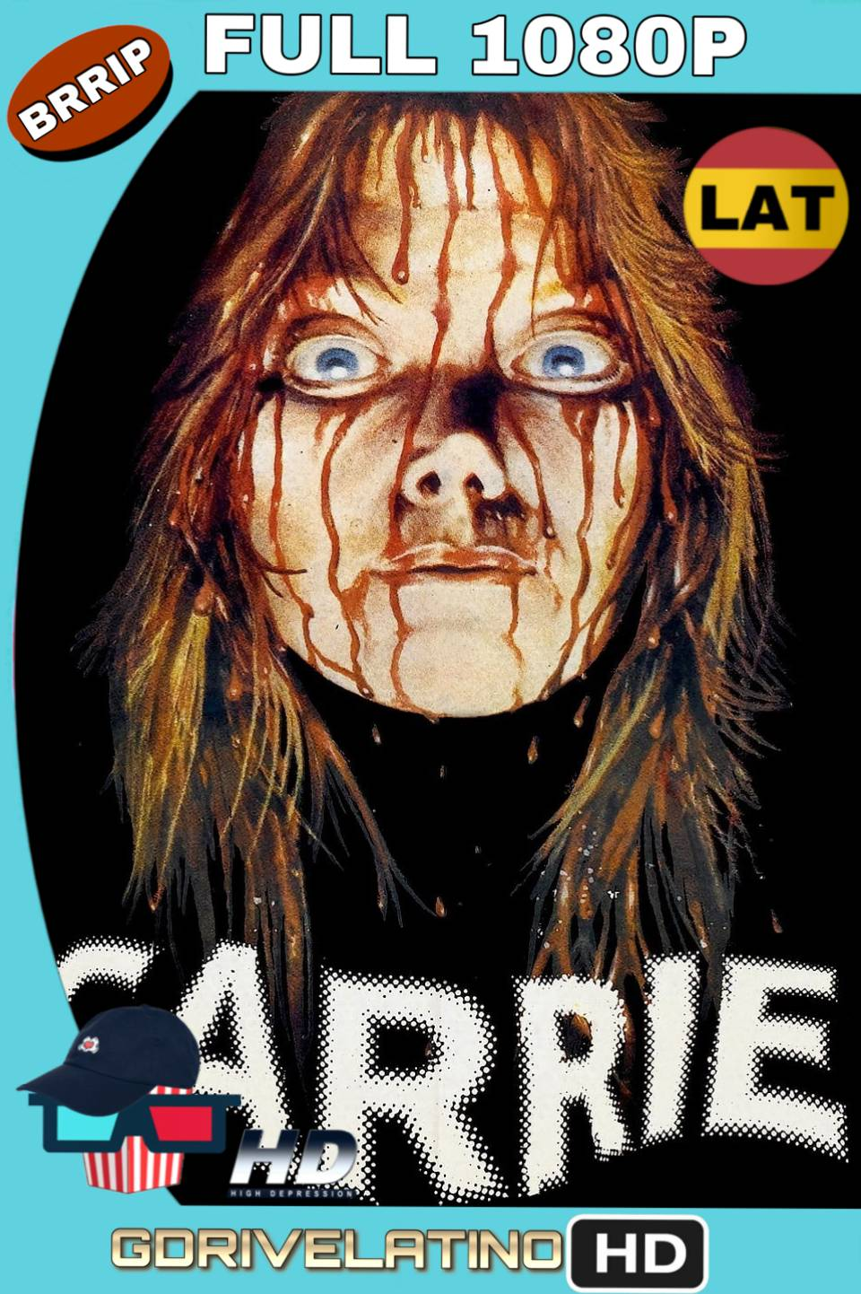 Carrie (1976) Latino-Inglés FULL 1080p BRrip MKV