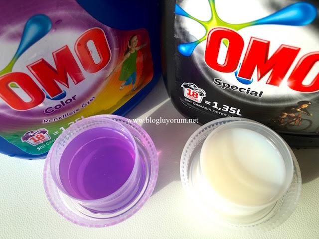 omo special siyah omo color renkli sıvı çamaşır deterjanı
