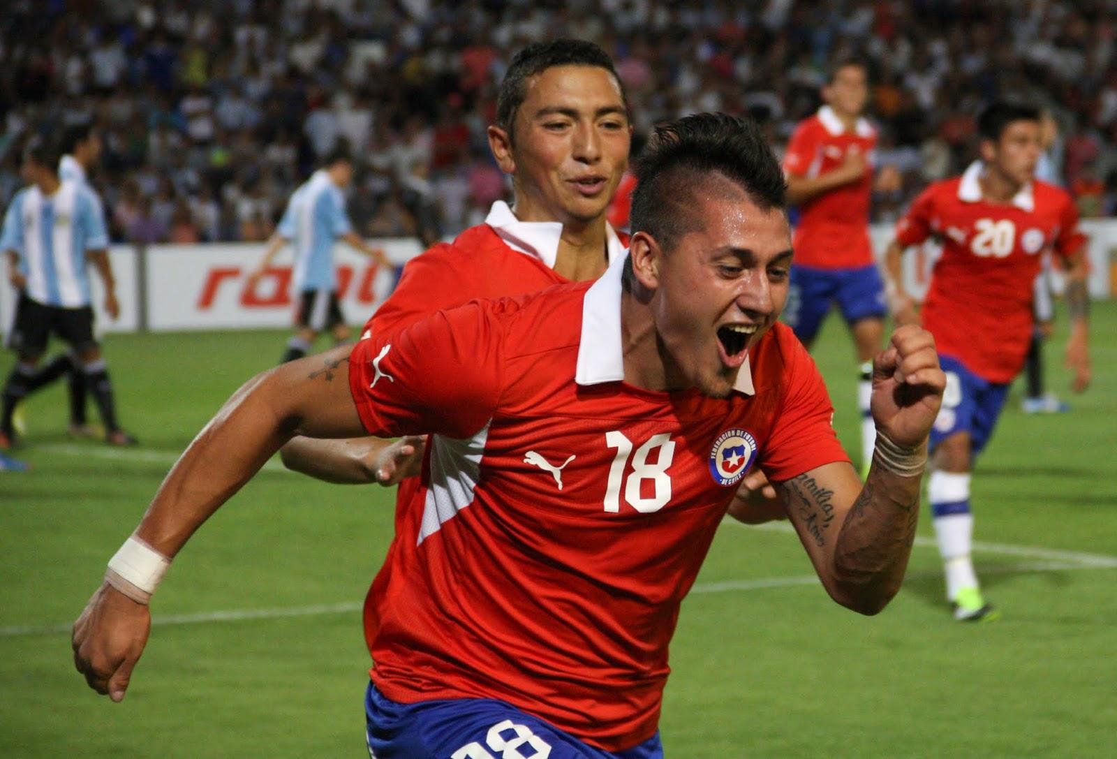 Argentina y Chile en Campeonato Sudamericano Sub-20 Argentina 2013, 9 de enero