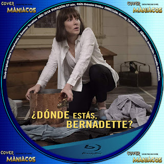 GALLETA DONDE ESTAS BERNADETTE 2019[COVER BLU-RAY]