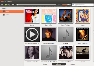 qtiko music player for ubuntu