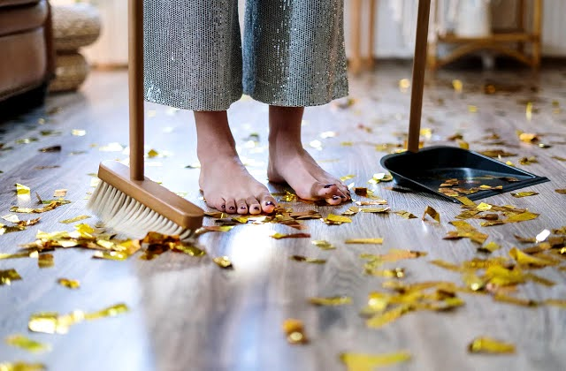 Simple Housekeeping tips for those living alone