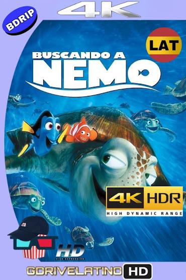 Buscando a Nemo (2003) BDRip 4K HDR Latino-Ingles MKV