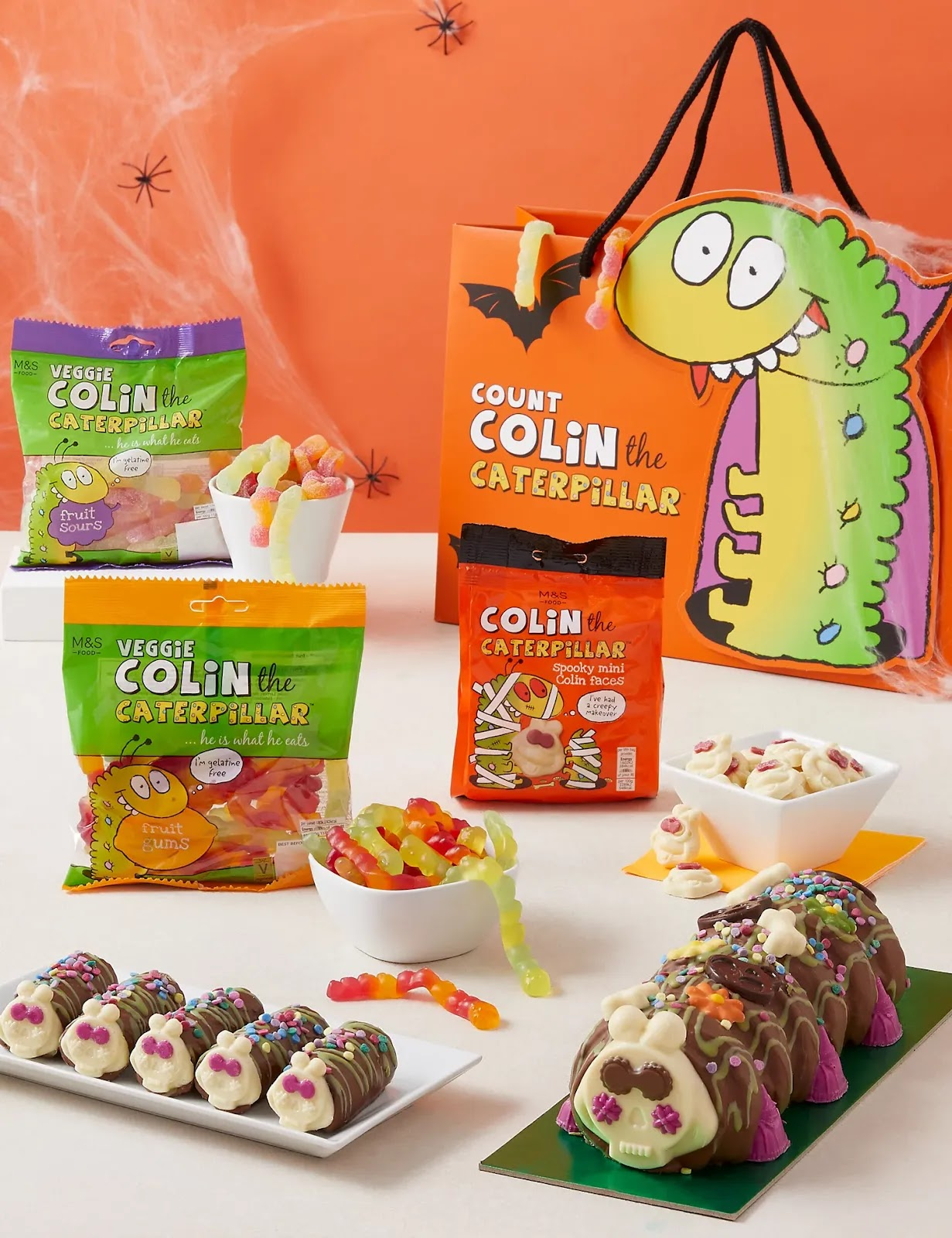 Halloween Colin The Caterpillar