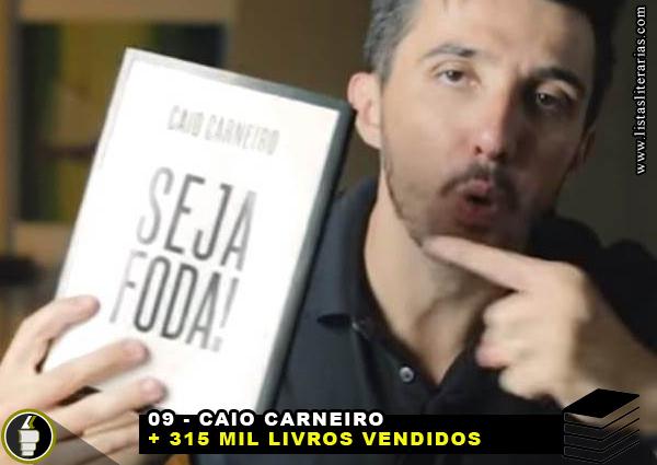 MV 9 - 10 Escritores brasileiros que mais venderam livros nesta década