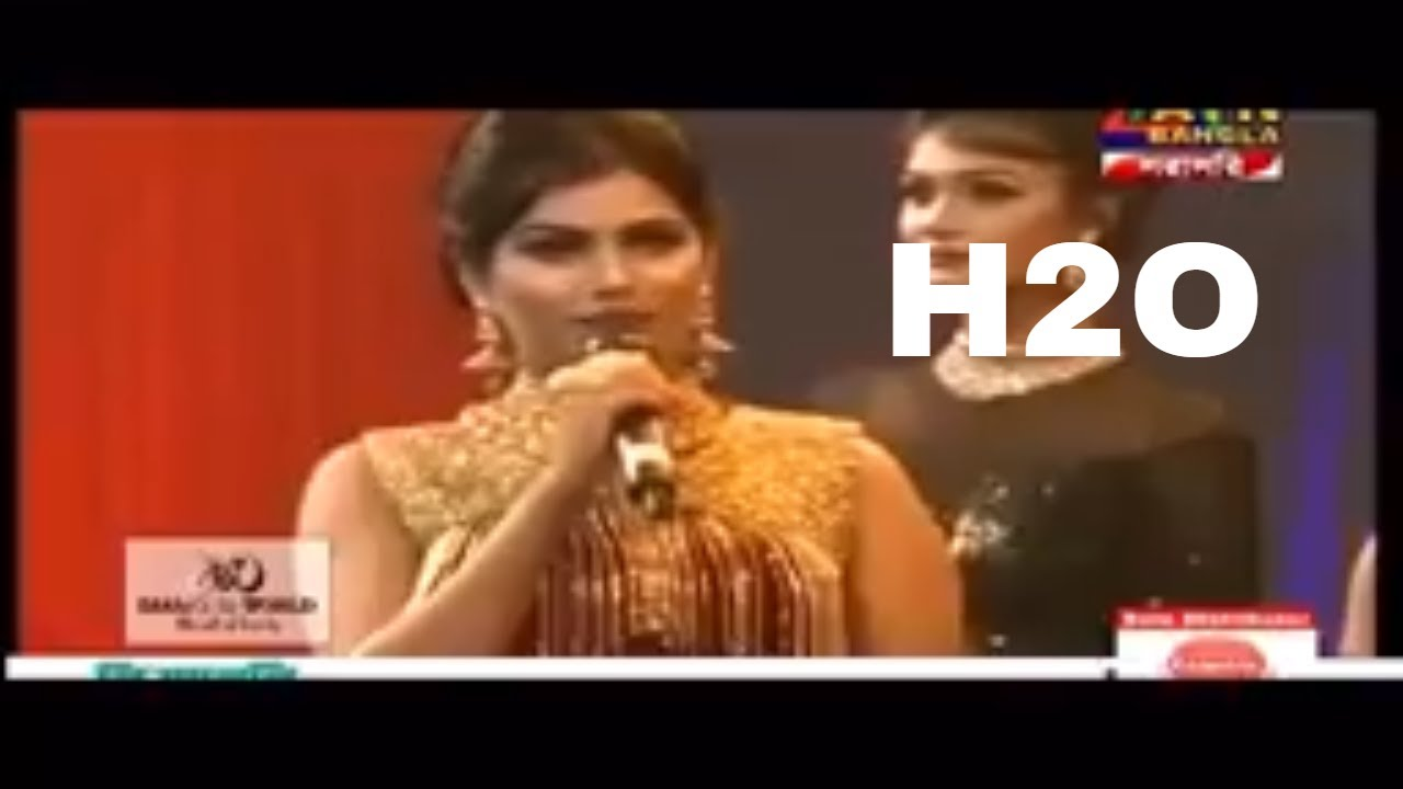 What Does H20 Means ? Shocking Answer By Miss World Bangladesh 2018 Contestant
