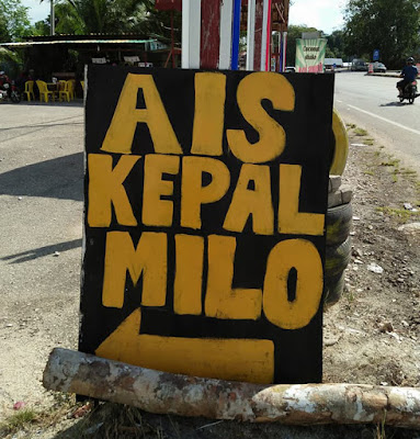 Ais Kepal Milo di Temerloh