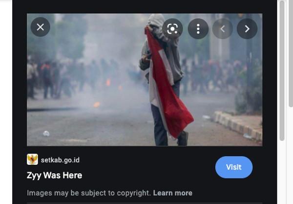 Misteri Padang Blackhat Peretas Situs Setkab