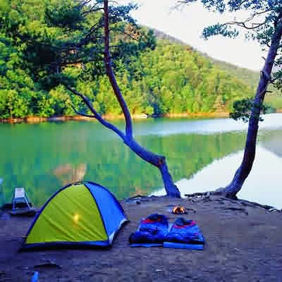 Borabay Gölü Çadır Kampı