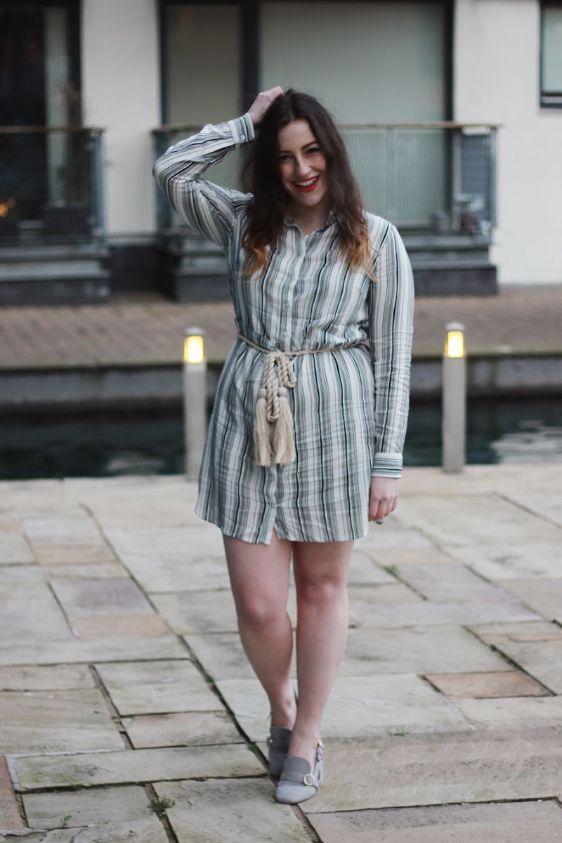 Bonprix striped shirt dress | www.itscohen.co.uk