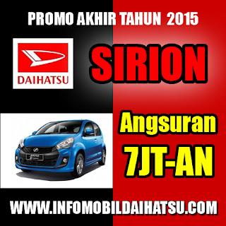 Promo Daihatsu Sirion 2015, Mobil Daihatsu Sirio, Daihatsu Sirion Bandung