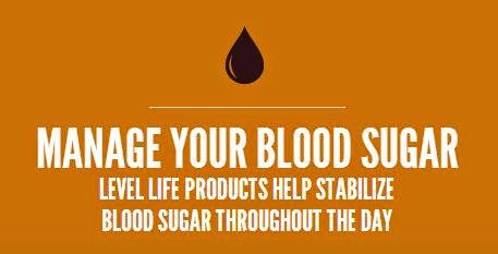 level life manage blood sugar graphic