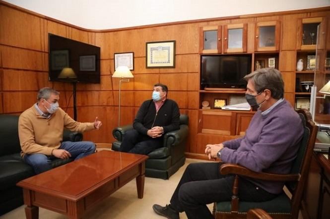 Abed y Vaquié presentaron los detalles de Mendoza Activa 2 en San Rafael