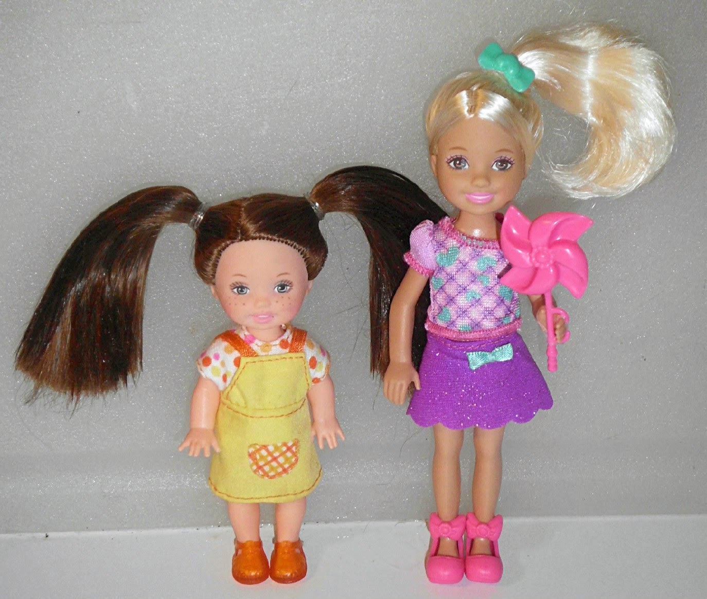 Confessions Of A Dolly Lover Barbie Siblings Then And Now