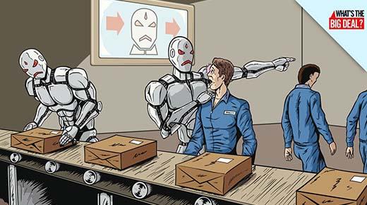 Los robots se harán cargo de la mayoría de los trabajos dentro de los 30 años