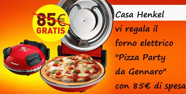 Casa henkel regala il forno pizza party da gennaro di ariete - Forno pizza da gennaro ...
