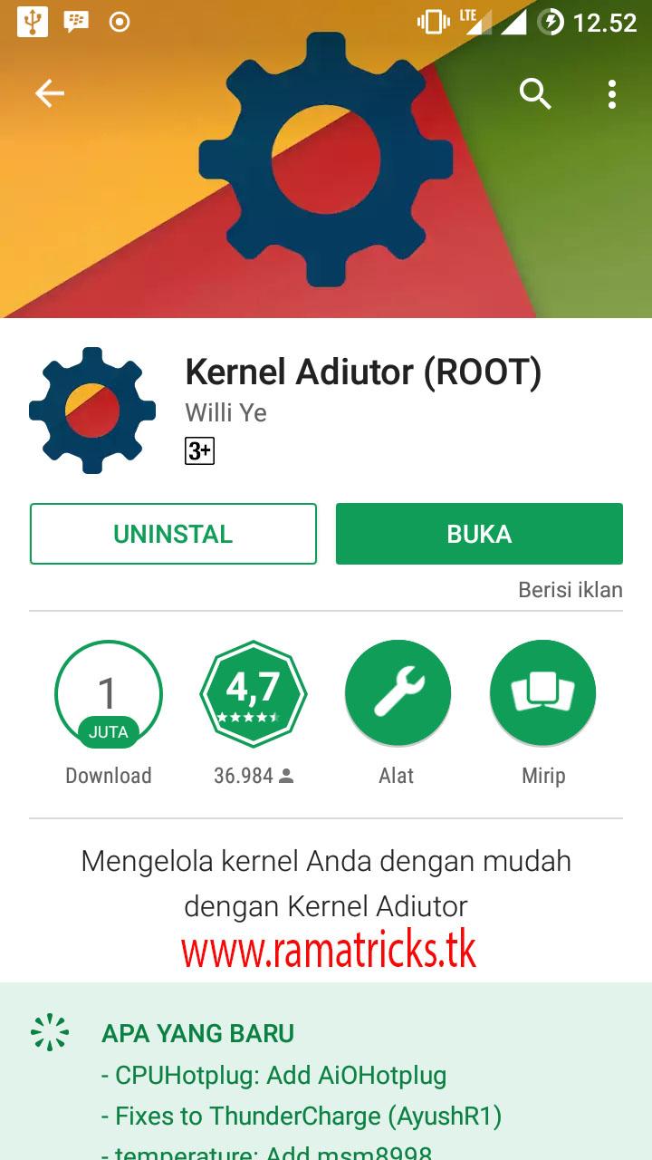 Cara Meningkatkan Performa Android Menggunakan Kernel Adiutor
