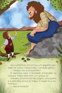 História O Alfaiate Valente (Conta Pra Mim); Imprimir PDF Grátis