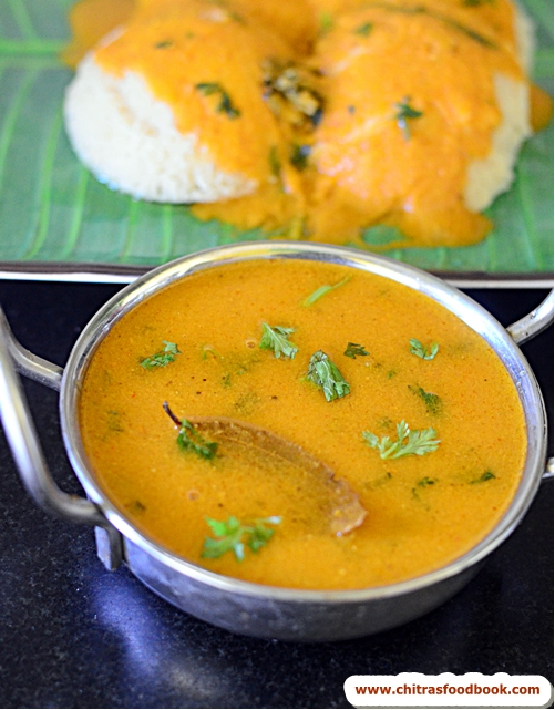plain kurma for idli dosa