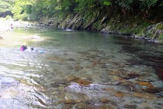 高見川の清流