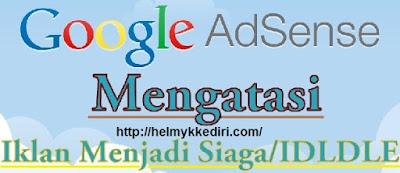 Penyebab status iklan adsense berubah siaga1