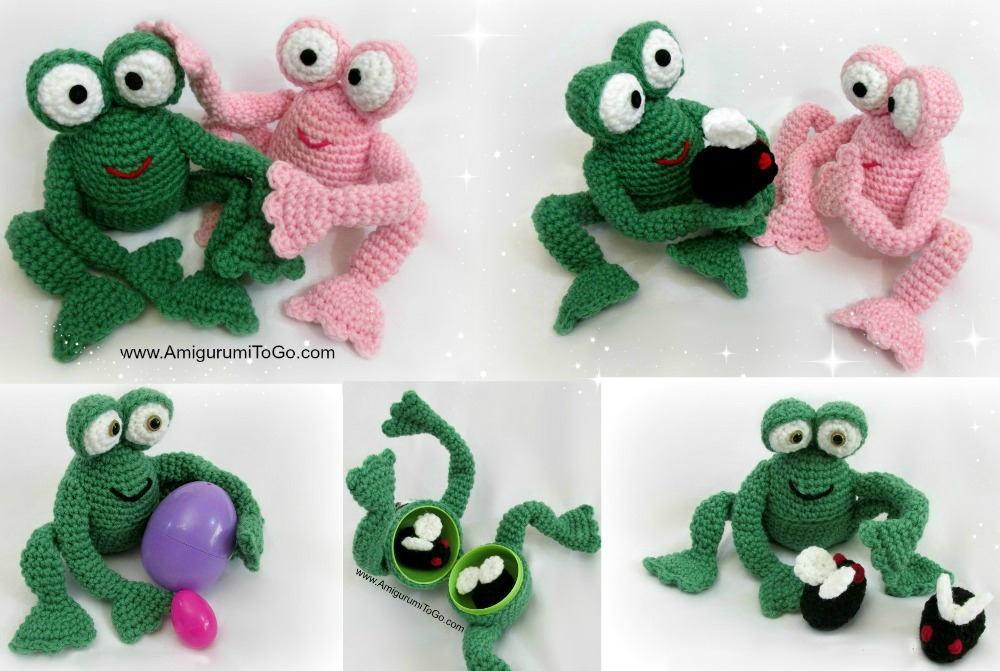 Free Pattern: Tree Frog - Amigurumi Crochet Animals - doitory ... | 671x1000