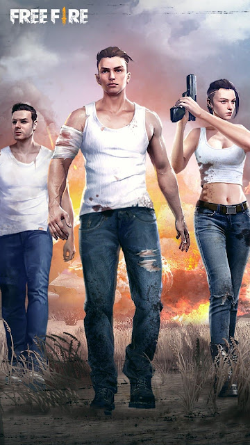 wallpaper Free Fire game android