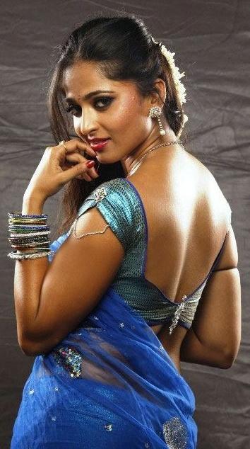 Porn Star Actress Hot Photos For You South Indian Actress Anushka In Spicy Saree-7956