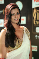 Varalakshmi in Cream Saree Sleeveless Backless Deep Neck Choli at IIFA Utsavam Awards March 2017 036.JPG
