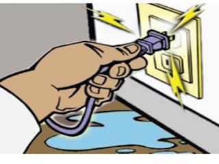 مشاكل الكهرباء المنزلية