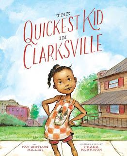 Quickest Kid in Clarksville by Pat Miller book cover