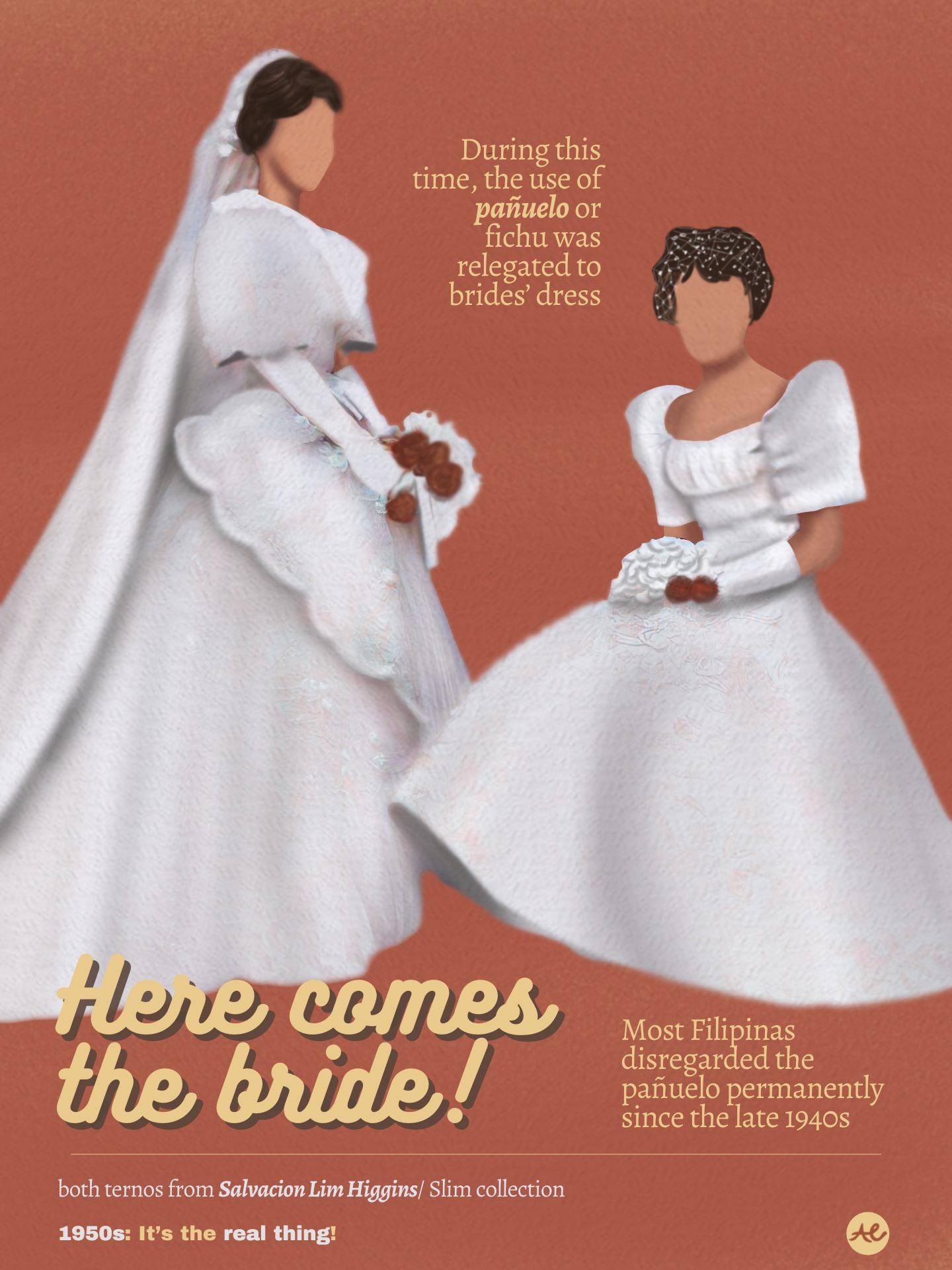 Bridal Fashion Philippines 1950s