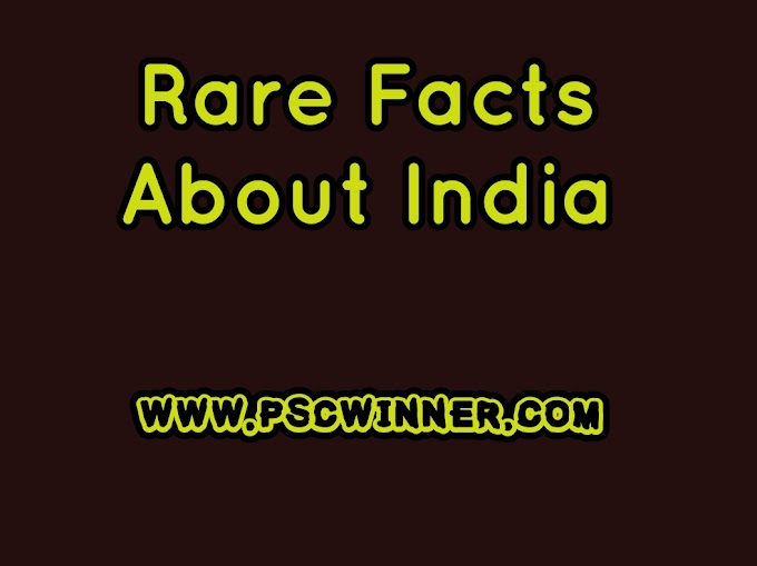 Rare Facts About India-Previous LDC Revision