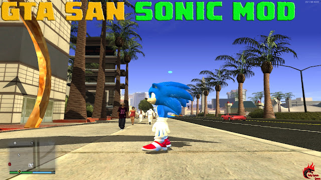 GTA San Andreas Sonic Mod For Pc With Power