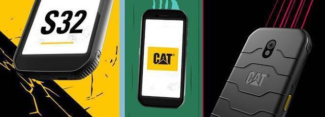 o novo Smartphone Cat® S32